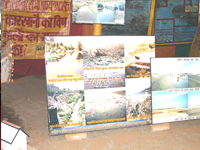 Lemination presented sources of Ganga Pollution