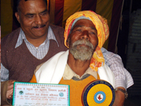 Sri Devanand Shukla (Social worker) get the honour of Ganga Seva Samman