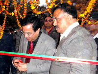 Ganga Exhibition  - Prof. A. K. Bakshi VC UPTROU inaurate the exhibition