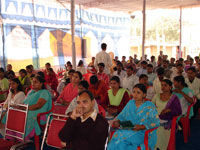 A view of Environmental Seminar held in the exhibition campus